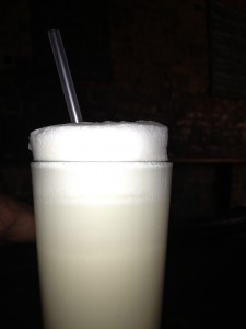 Ramos Gin Fizz at Tonique in NOLA